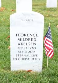 Florence Mildred Carlson Axelsen (1920-2017) - Find A Grave Memorial
