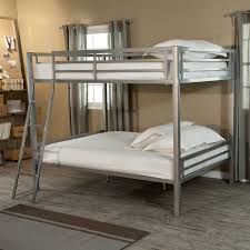 Bunk Beds Duro Hanley Full Over Full Bunk Bed Silver Bunk Beds Loft