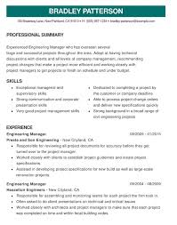 Great Resume Examples Sample Of Good Resume Magdalene Project Org