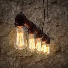 Retro Vintage Industriële Hanger Plafond Loft Lamp Licht