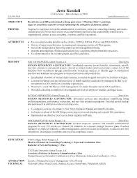 Sample Hr Professional Consultant Resume Hr Consultant Resume Template Human Resources Manager Cv