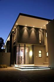 luxury home lighting. Luxury And Large Contemporary House Nice Lighting Home R