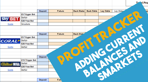 Profit Spreadsheets Super Simple Matched Betting Spreadsheet 2019 By Team Profit