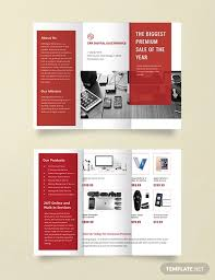 Sales Pamphlets 18 Electronic Brochures Free Psd Ai Eps Format Download