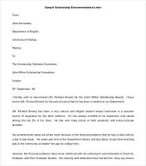 Best Solutions Of Phd Scholarship Recommendation Letter Sample About