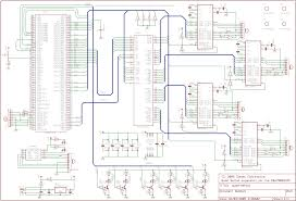 simple transistor switch circuit diagram images many logic probe the schematic was constructed using standard eagle library a few