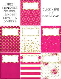 Free Printable Binder Covers Binder Covers Dividers Free Printables Sarah Titus