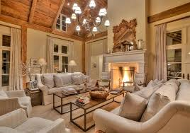 living room french home