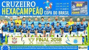 Baixe o pôster do Cruzeiro, campeão da Copa do Brasil 2018 - Superesportes