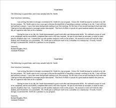 Job Re mendation Letter PDF Free Download