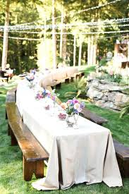 rustic wedding table cloths best picnic ideas on farmhouse outdoor lamps  country decorations and long centerpieces