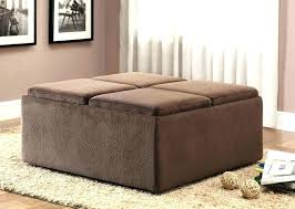 upholstered coffee table round ottoman image of square large t