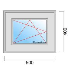Fenster 50x40 Cm Günstig Online Kaufen Fensterblickde