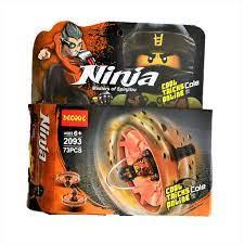 Bộ xếp hình Decool 2093 Con quay lốc xoáy Ninjago của Cole - 73 chi tiết