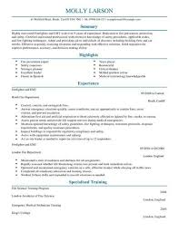Sample Cv Template Emergency Services Cv Templates Cv Samples Examples