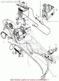 Honda ct70 trail 70 k0 1969 usa wire harness battery buy rh justsayessto me honda ct70 electrical diagram 1981 honda ct70 wiring diagram