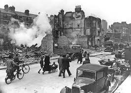 Resultado de imagen para blue para una ciudad imaginaria bombardeada