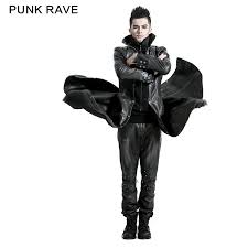 y 422 whole handsome gothic men long pu leather duster coat view men long leather coat punk rave product details from guangzhou ruier clothing limited