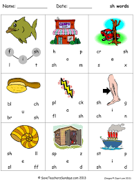 Phonics is a method of teaching kids to learn to read by helping them to match the sounds of letters, and groups of letters, to distinguish words. Sh Phonics Lesson Plan Worksheets And Activities Teaching Resources