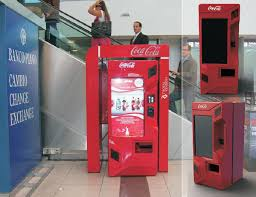 Interactive Vending Machines Interesting Interactive Vending Machine On Behance
