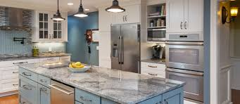 Piracema White Granite Kitchen Grabill Cabinets Custom Color Style And Functions Make This