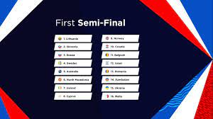 Here's everything you need to know about this year's. Semi Final Running Orders Revealed Eurovision Song Contest