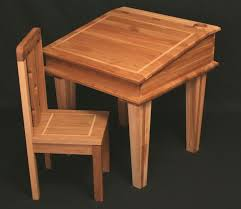 children plyground with brown wooden table