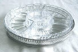 glass serving platters glass serving tray glass serving platters vintage pressed glass and silver plate d glass serving platters