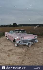 1958 Chevrolet Impala convertible classic American car Stock Photo ...