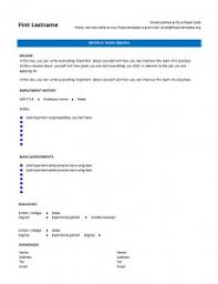 blank cv resume templates for   –  cvtemplate orgblank cv resume template     blank   cv template   page