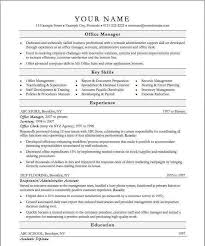 Resume Examples For Office Manager Best Sample Office Manager Resume Awesome Sample Office Manager Resume
