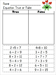 i made some sheets to go along with our study of equations wanted to share them with you they re free