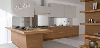 Well Finishing Wooden Kitchen Cabinet Modern Wooden Kitchen Counter  Luxurious Pendant Lamp White Elegant Top