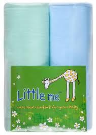 Многоразовые <b>пеленки Little Me</b> фланель 75х120 н... — купить по ...