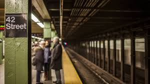 crowded subway train station. Fine Crowded 42nd Street Subway Station With Train Entering And Leaving People U2013 NY  Clips Throughout Crowded Subway Train Station A