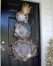 Dream Catcher Christmas Ornament How to Make a Dream Catcher Boho Snowman Wreath howtos DIY 56