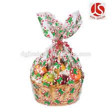 jumbo cellophane bags gift basket bags