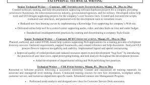 Technical Writer Resume Samples Technical Writer Resume Samples Sample For Fresher Mysetlist Co