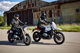 2018 bmw r nine t. beautiful nine the original r ninet left with the new urban gs for 2018 bmw r nine t m