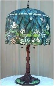 lamp shades antique glass lamp shades reion stained astonishing beautiful lily of light