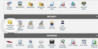 Password Protected Directories Tutorial