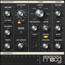 universal audio api 2500 bus compressor moog multimode filter
