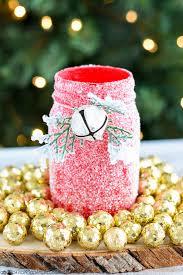 Decorated Christmas Jars Ideas Joyful Joyful DIY Christmassy Mason Jars 95