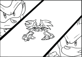 Shadow The Hedgehog Coloring Page Sonic Coloring Pages To Print