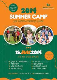 Summer Camp Flyer Template Summer Camp Flyer Templates Grafilker