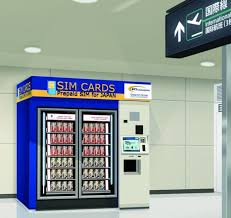 Insurance Vending Machine Airport Fascinating Prepaid Sim Cards To Be Sold In Airport Vending Machines