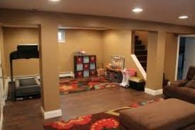 basement remodel photos. Finished-basement-play-area, Finished Basement Before And After, Makeover Remodel Photos