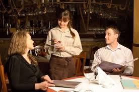 restaurant waiter taking order. Interesting Restaurant A Waiter Taking Order From Restaurant Customers Stock Photo  9583090 In Restaurant Waiter Taking Order E