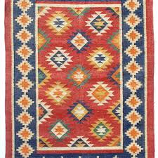 what is a dhurrie rug deep blue multi coloured rug mahout lifestyle indian cotton dhurrie rugs