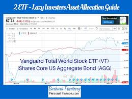 Agg Chart Lazy Investors Asset Allocation Guide To Amass 787 355